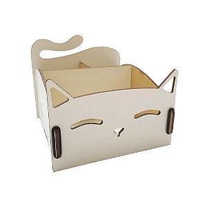 Porta-treco Gatinho - Branco