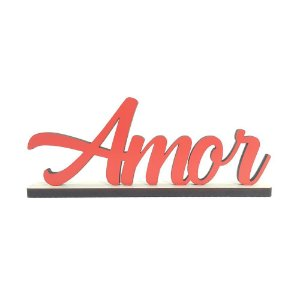 Nome Decorativo - Amor II (P)