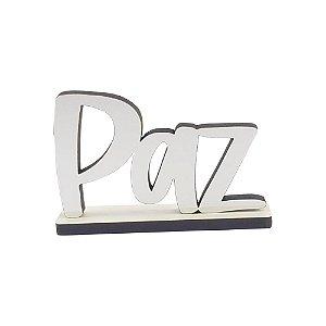 Nome Decorativo - Paz (P)