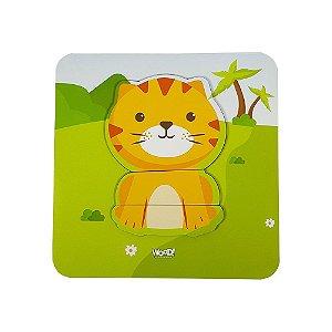 Quebra-Cabeça Safári - Tigrezinho