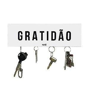 Porta-Chaves - Magnético - Gratidão