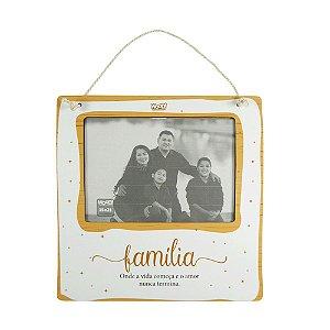 Quadro Porta-Retrato - Família