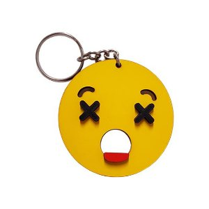 Chaveiro Emoji Whatsapp Assustado