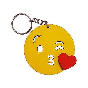 Chaveiro Emoji Whatsapp Beijos