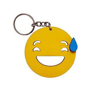 Chaveiro Emoji Whatsapp Nervoso