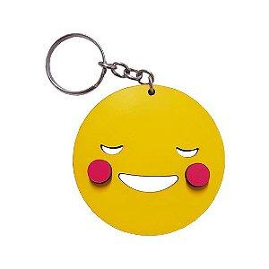 Chaveiro Emoji Whatsapp Tímido