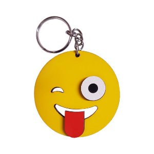 Chaveiro Emoji Whatsapp Maluco