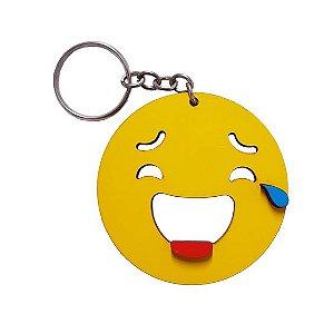 Chaveiro Emoji Whatsapp Risonho