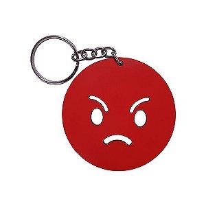 Chaveiro Emoji Whatsapp Raiva
