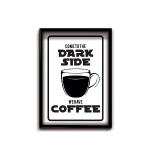 Quadro Decorativo Dark Coffee