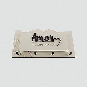 Porta Chaves e Cartas - Amor
