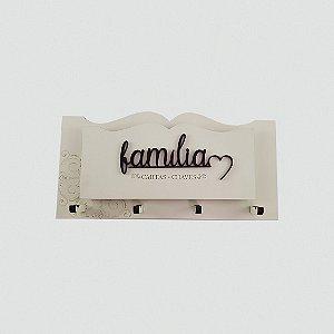 Porta Chaves e Cartas - Família