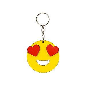 Chaveiro Emoji - Apaixonado