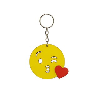 Chaveiro Emoji - Beijinho
