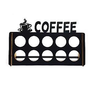 Porta Cápsulas de Café - 10 Cápsulas