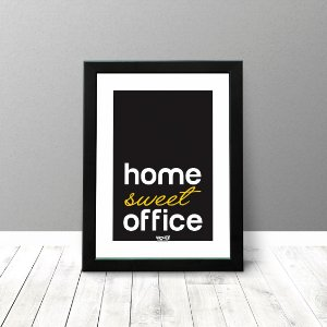 Quadro Criativo - Home Sweet Office