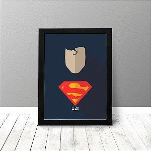 Quadro Criativo - Super Homem