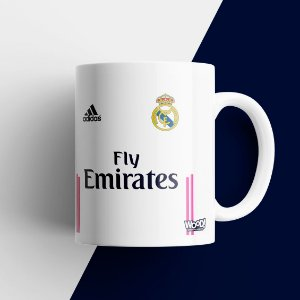 Caneca Times - Real Madrid
