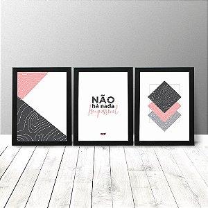 Kit Quadros Criativos - Não há nada impossível
