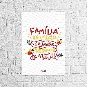 Plaquinha Decorativa - Família Reunida