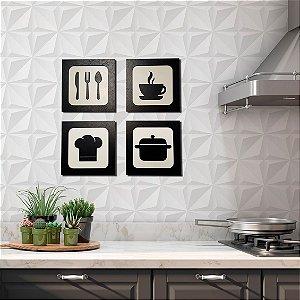 Kit Plaquinhas - Cozinha