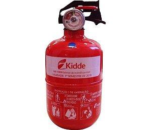 """Extintor P1 Abc 4"""" Po Abc P1 4"""" ( Barrigudo - Modelo Fiat ) C Válvula Plastica 090Kg ( 5 Anos )"""