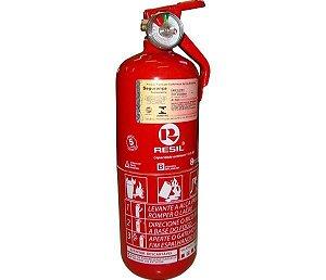 "Extintor R985 - P1 Abc 35"" Res985 Po Abc P1 35"" ( Medio - Modelo Escort) C Válvula Metal (Golf) 090Kg 5 Anos"