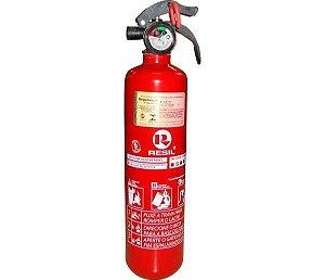 "Extintor R987 - P1 Abc 3"" Res987 Po Abc P1 3"" ( Fino - Modelo Universal ) C Válvula Plastica 090Kg 5 Anos"