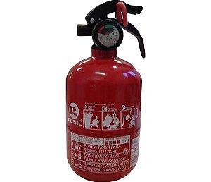 """Extintor R989 - P1 Abc 4"""" Res989 Po Abc P1 4"""" ( Barrigudo - Modelo Fiat ) C Válvula Plastica 090Kg 5 Anos"""