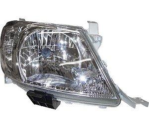Farol H4 C Pisca Cristal Ld Toyota Hilux FT570LD