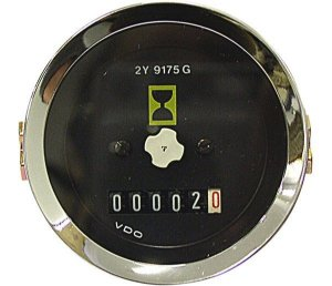 Horimetro Universal 52Mm Sem Iluminacaosem Ponteiro 12V24Vcaterpillar2Y9175M331007001R