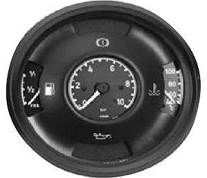 Instrumento Combinado Mercedes 1113 8387 Temp  Comb  Pressão Oleo  Luz Freio 12V 140Mm  3445408247