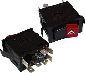 Interruptor Emergencia Advert Vw Gol Saveiro Parati 03813905