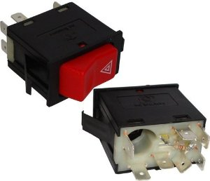 Interruptor Emergencia Advertencia 24v Mercedes Cam Onib 03040205