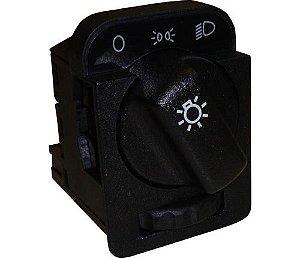 Interruptor Luz C Reostato 10 Terminais Omega Corsa 10098991