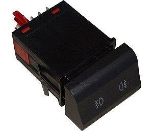 Interruptor Luz Neblina Dianteira Vw Fox 03041770