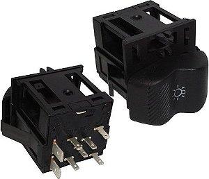 Interruptor Luz S Reostato Vw Gol Saveiro Parati 03109035