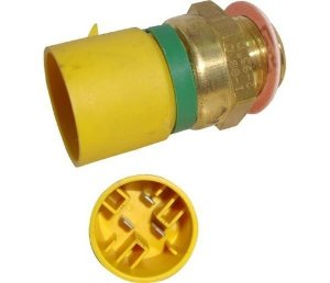 Interruptor Radiador 88°c 95°c Amarelo Verde Astra 0763