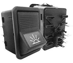 Interruptor Tecla Ilum Motorista Mercedes Cam Ônibus 03833160