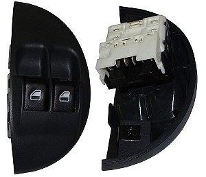 Interruptor Vidro Elétrico Duplo Fiat Palio 03731600