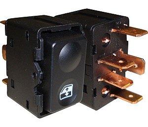 Interruptor Vidro Elétrico Escort Led Verde 530016