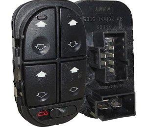 Interruptor Vidro Elétrico Escort Mondeo Quadruplo 530005