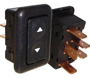 Interruptor Vidro Elétrico Escort Verona Ld Simples 530011