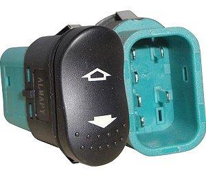 Interruptor Vidro Elétrico Focus  Dianteiro Direito T.D T.E 530007