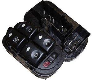 Interruptor Vidro Elétrico Focus4p Quadruplo 14 Pin 530022
