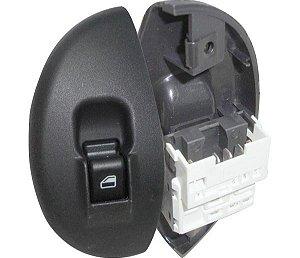 Interruptor Vidro Elétrico Palio Siena  Dianteiro Direito Led Verde 520005