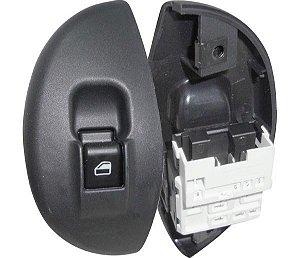 Interruptor Vidro Elétrico Palio Siena D Led Vermelho 520006