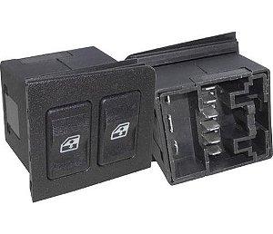 Interruptor Vidro Elétrico Uno D.e Led Vermelho 520004