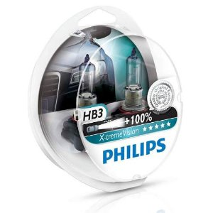 Kit Lâmpada Hb3 12v 65w Xtreme Vision 100% Mais Luz 3500k