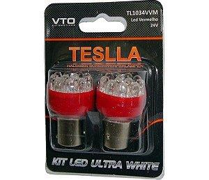 Kit Lâmpada Led Kit Led 1034 24V Vm (Par)